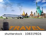 travel the world | Shutterstock . vector #108319826