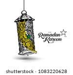 eid mubarak celebration ... | Shutterstock .eps vector #1083220628