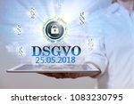 german text dsgvo  translate...   Shutterstock . vector #1083230795