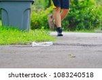 a plastic bottle of drinking...   Shutterstock . vector #1083240518