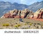 Road Through Red Rock Canyon ...