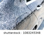 close up very dirty luxury car... | Shutterstock . vector #1083245348