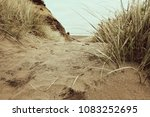 Sandy Pathway To The Sea With...