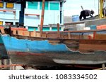 boat construction background   Shutterstock . vector #1083334502