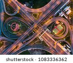 top view of motion blurred... | Shutterstock . vector #1083336362