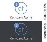 ethereum df letters business...   Shutterstock .eps vector #1083341528