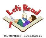 illustration of a kid boy...   Shutterstock .eps vector #1083360812