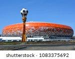saransk  russia   april 04 ... | Shutterstock . vector #1083375692