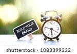 build your brand                ... | Shutterstock . vector #1083399332