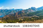 panoramic view of calanques de... | Shutterstock . vector #1083407045