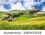 beautyful idyllic tuscany...   Shutterstock . vector #1083422018