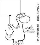 black and white illustration of ... | Shutterstock .eps vector #1083429878