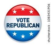 2020 united states of america...   Shutterstock .eps vector #1083431906