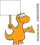 cartoon illustration of a... | Shutterstock .eps vector #1083450398