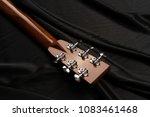 acoustic guitar  tuning machine ... | Shutterstock . vector #1083461468