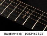 acoustic guitar  tuning machine ... | Shutterstock . vector #1083461528