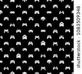 video game controller... | Shutterstock .eps vector #1083509348
