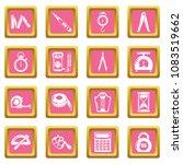 measure precision icons set... | Shutterstock .eps vector #1083519662