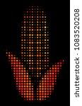 dot corn icon. bright pictogram ... | Shutterstock .eps vector #1083520208