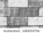 old wall grey grunge background ... | Shutterstock . vector #1083524756