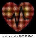 dot cardiology icon. bright... | Shutterstock .eps vector #1083525746