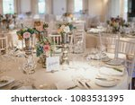 the composition of roses stands ... | Shutterstock . vector #1083531395