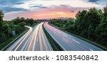 german highway at frankfurt... | Shutterstock . vector #1083540842