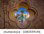 dubrovnik harbor view from... | Shutterstock . vector #1083559196