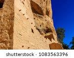 mesa verde national park cliff... | Shutterstock . vector #1083563396