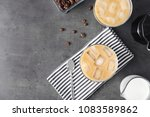 flat lay composition with cold... | Shutterstock . vector #1083589862
