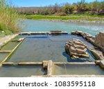 big bend national park hot... | Shutterstock . vector #1083595118