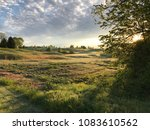 early morning landscape view of ... | Shutterstock . vector #1083610562