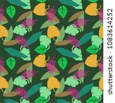 fun seamless pattern with... | Shutterstock .eps vector #1083614252