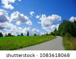 road through beautiful... | Shutterstock . vector #1083618068