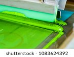 t shirt screen printing | Shutterstock . vector #1083624392