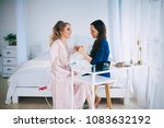 a beautiful and gentle morning...   Shutterstock . vector #1083632192