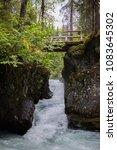 winner creek  girdwood  alaska | Shutterstock . vector #1083645302