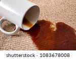home mishap  stained carpet ... | Shutterstock . vector #1083678008