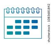 calendar reminder isolated icon