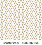 abstract geometric pattern with ... | Shutterstock .eps vector #1083702758