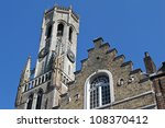 the belfry in bruges | Shutterstock . vector #108370412
