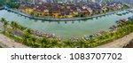 hoi an  vietnam   panorama... | Shutterstock . vector #1083707702