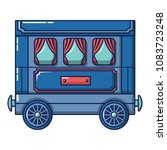 retro wagon icon. cartoon of...   Shutterstock .eps vector #1083723248
