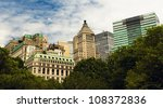 New York City - Look from battery park - stock photo