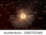 diwali cracker india  | Shutterstock . vector #1083732368