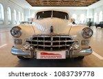 the car gaz 12 zim. moscow ... | Shutterstock . vector #1083739778