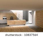 3d render of image. kitchen... | Shutterstock . vector #10837564