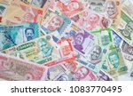 variety of the african banknotes | Shutterstock . vector #1083770495