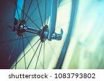 bicycle good wheel. | Shutterstock . vector #1083793802