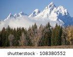 grand tetons mountain range 2 | Shutterstock . vector #108380552